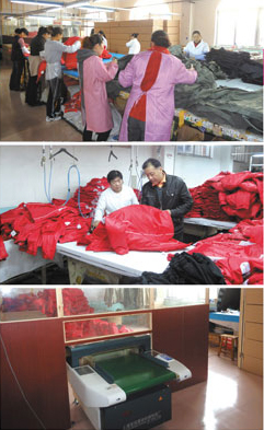 中国の生産工場
