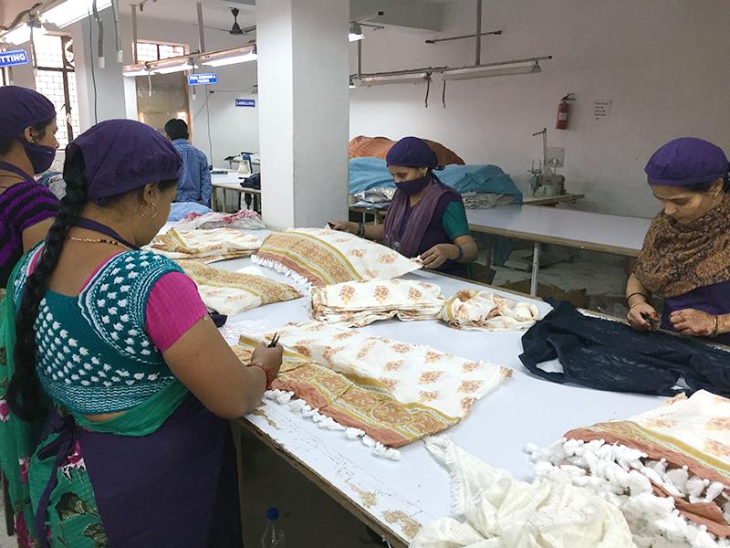 インドの生産工場