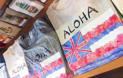 H.I.S. Hawaii LeaLeaオリジナルTシャツ